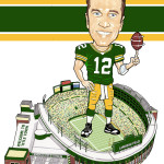 Aaron Rodgers Caricature
