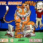 Athletic Bowl - Clemson Tigers vs Oklahoma Sooners