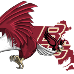 Boston College Golden Eagle Cartoon