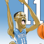 Brice Johnson Caricature