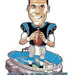 Cam Newton Caricature