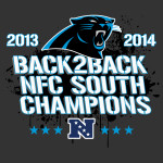 Carolina Panthers BACK to Back Division Champions