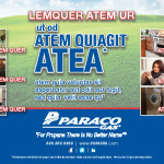 Client: Paraco Gas | Magazine Advertisement | Created with Adone InDesign