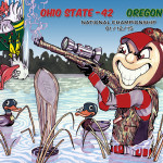 Ohio State vs Oregon - Duck Hunt