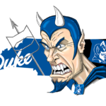 Duke Blue Devils Cartoon Illustration