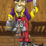 ECU Pirate forcing NC State Wolfpack to walk the plank