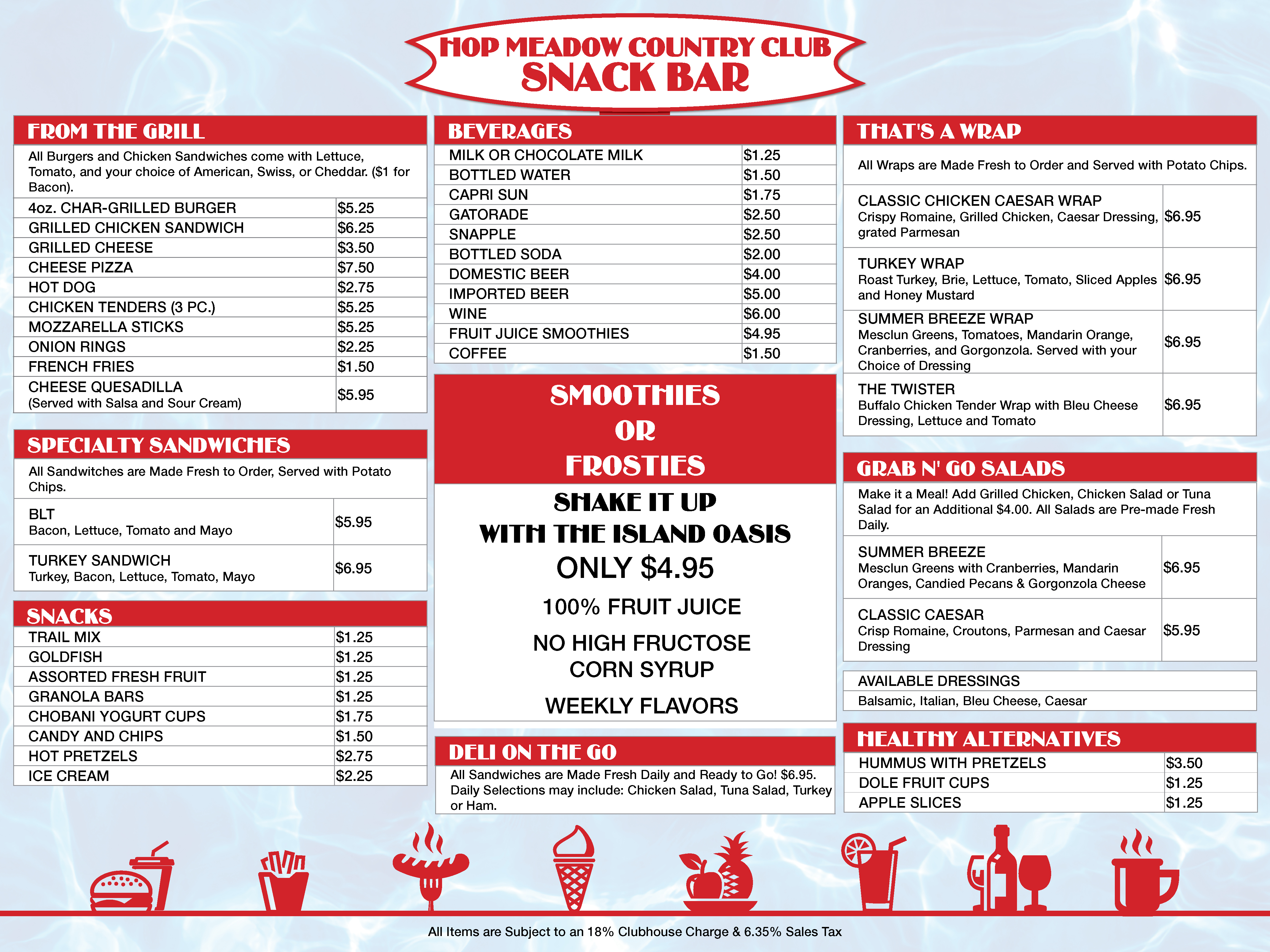 fine snack bar menu template image collection entry level resume