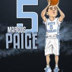 Marcus Paige Caricature