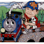Nursery - Riding Thomas the Train