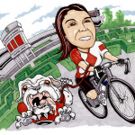 Riding between the Hedges