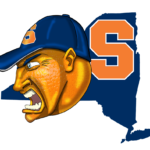 Syracuse Orange Cartoon
