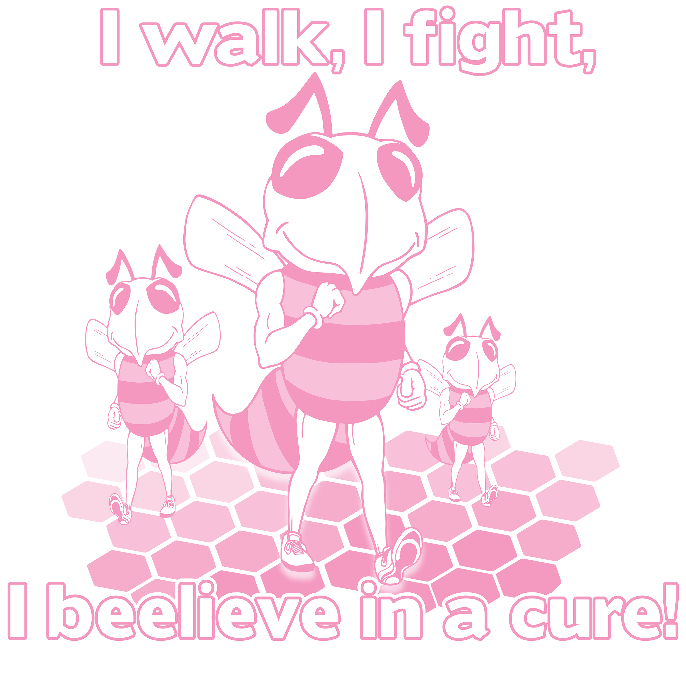 Susan G. Komen Breast Cancer Walk T-Shirt Design