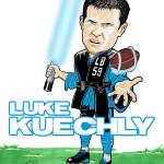 Luke Kuechly Caricature