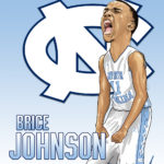 Brice Johnson Caricature Cartoon Illustration