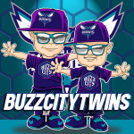 BuzzCityTwins Caricature Man Cave Decoration Illustration