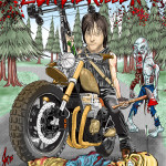 Daryl Dixon - The Walking Dead Illustration Caricature Cartoon