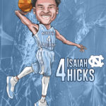 Isaiah Hicks Caricature Cartoon