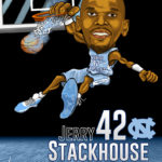 Jerry Stackhouse Caricature Cartoon