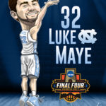 Luke Maye Caricature Cartoon