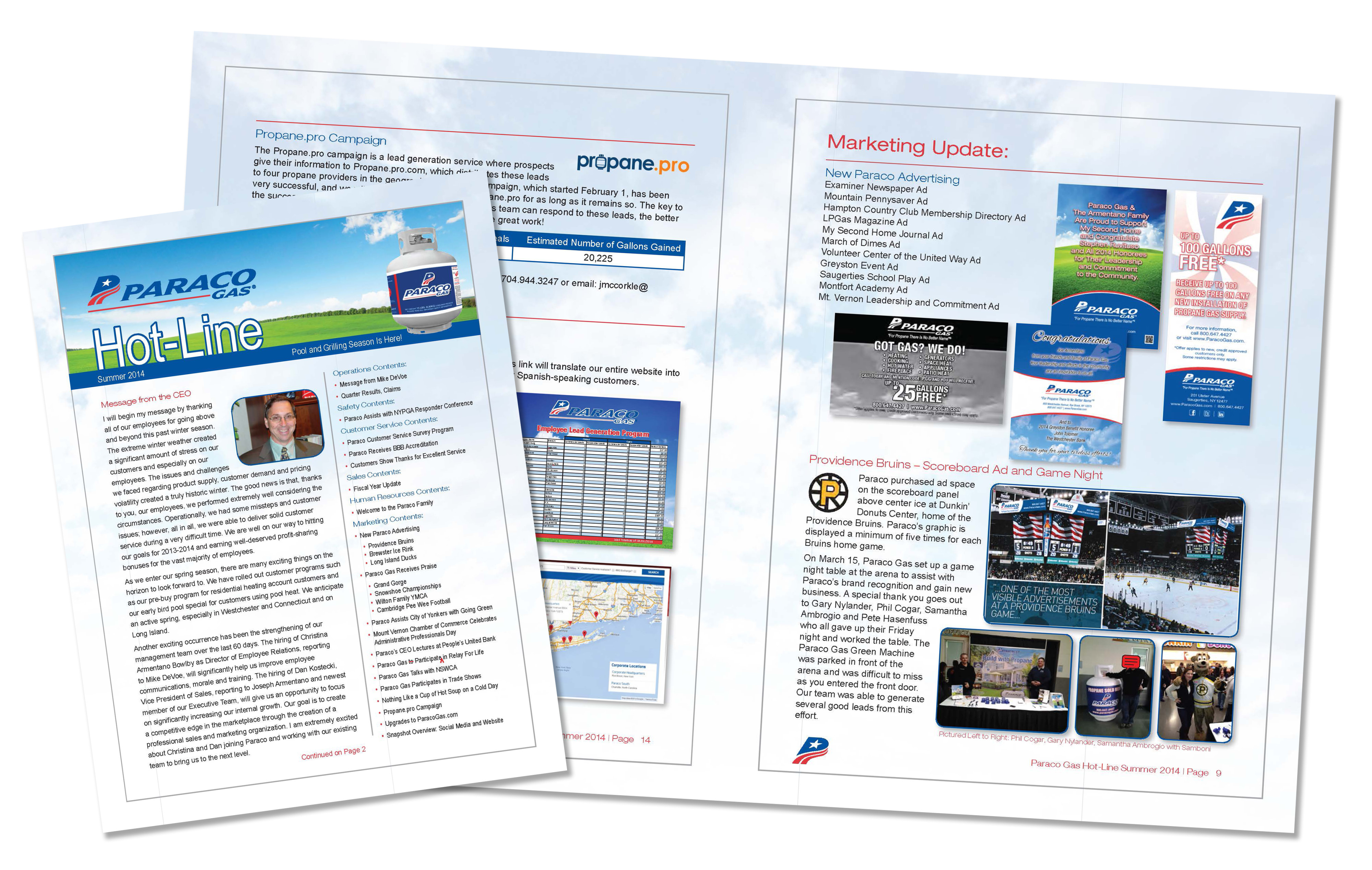 Paraco Gas Newsletter