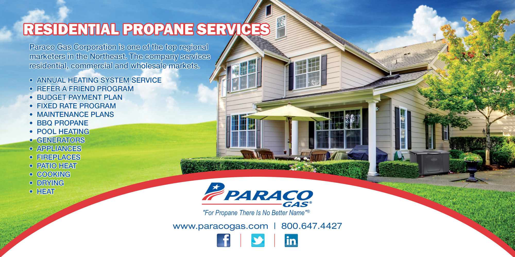 Residential Services Mailer