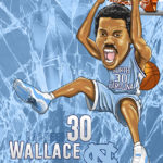 Rasheed Wallace Caricature Cartoon
