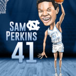 Sam Perkins Caricature Cartoon