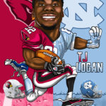 TJ Logan Caricature Cartoon