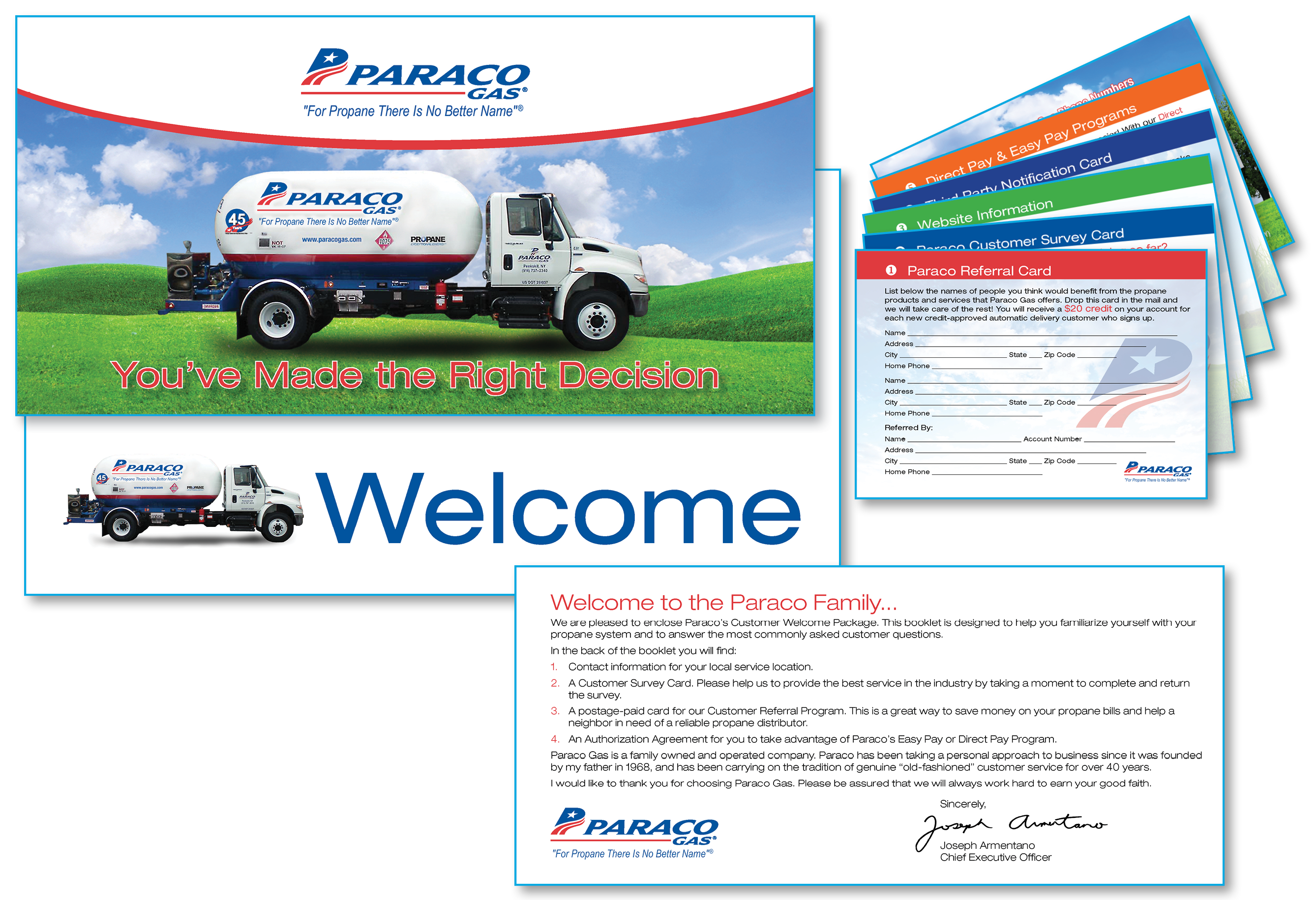 Paraco Gas Welcome Package