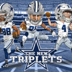 The New Triplets Dez Dak Zeke Caricature Cartoon