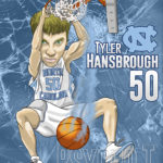 Tyler Hansbrough Caricature Cartoon